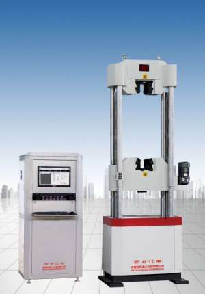 WAW-300微机控制钢绞线松弛试验机
